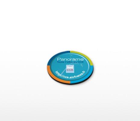 magnet publicitaire rond 40mm
