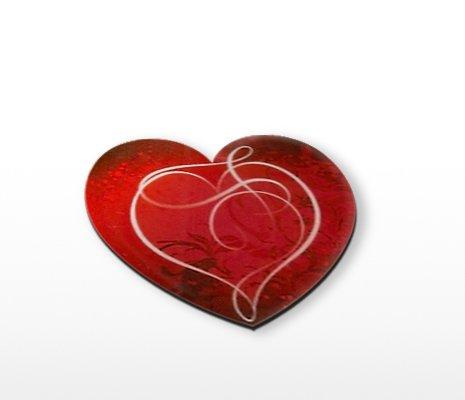 magnet en coeur