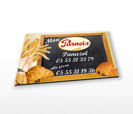 magnets publicitaire rectangle 58x80mm
